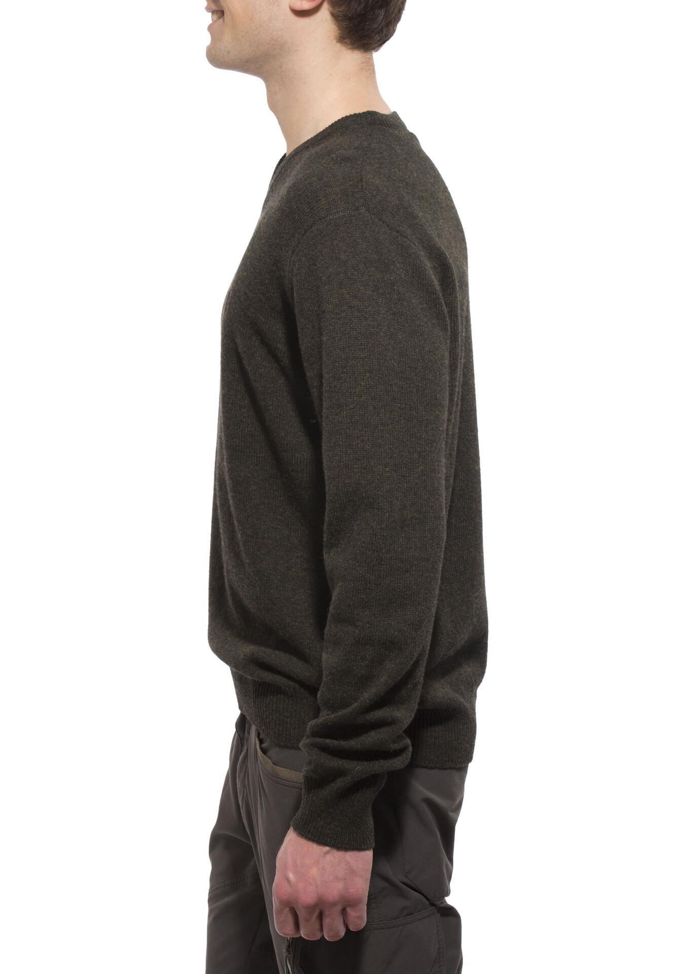 Fjällräven Shepparton Pullover Men, dark olive